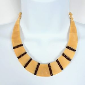 Vintage art deco statement necklace
